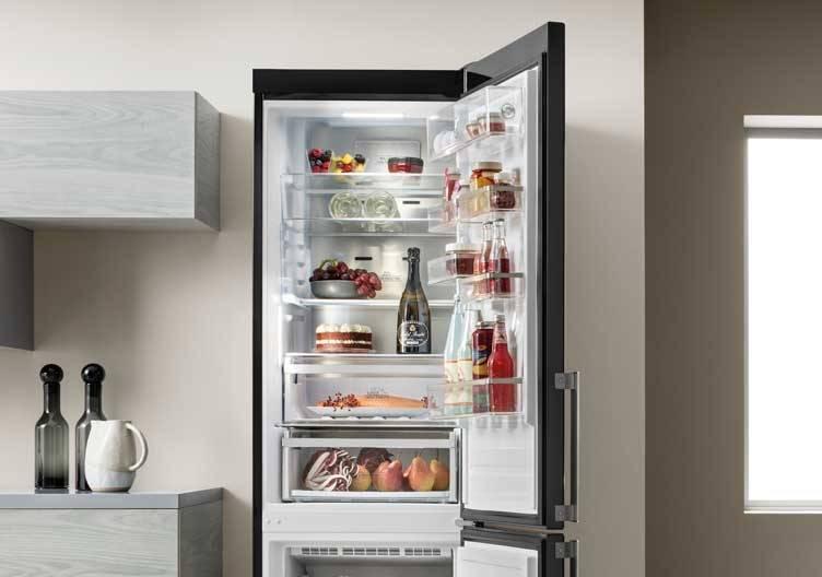 Welches Lebensmittel gehört wohin im Kühlschrank