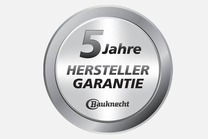 5-Jahre Bauknecht passion Hersteller-Garantie