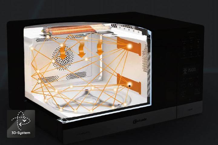 3D-System - Extrem schnelles und gleichmäßiges Kochen.