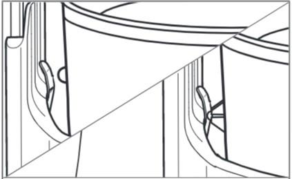 comment fixer la sorbetière au robot pâtissier à bol relevable étape3.5