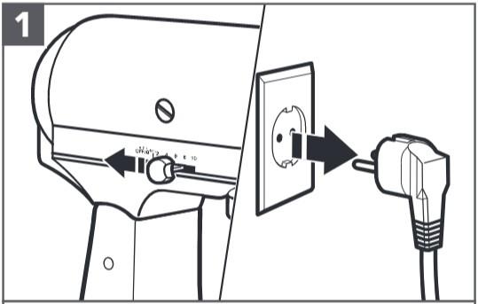 So montieren Sie das Sieb mit digitaler Waage Schritt 1