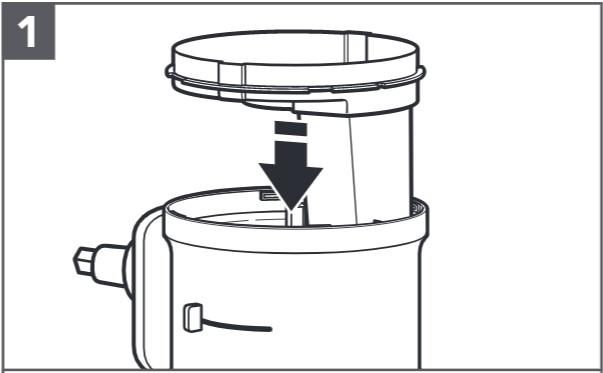 comment installer le disque à trancher réglable étape1