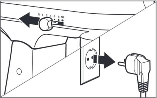 So befestigen Sie das Zubehör bei der Montage der Küchenmaschine mit kippbarem Motorkopf – 1 u. 2