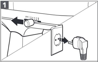 So montieren Sie das Erweiterungspaket Wurstfüllhorn an der Küchenmaschine Schritt 1