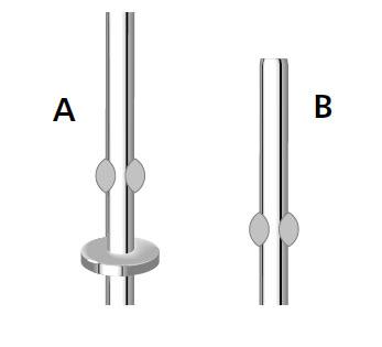 comment insérer les fouets dans le batteur étape1