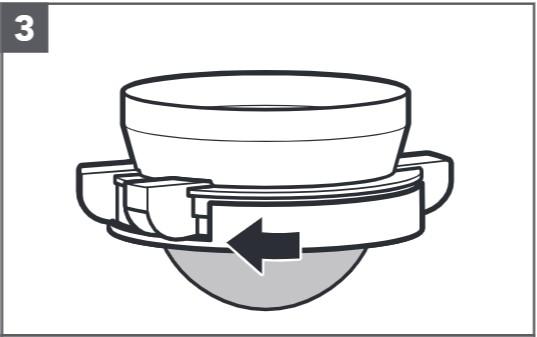 So reinigen Sie das Sieb mit digitaler Waage, Schritt3