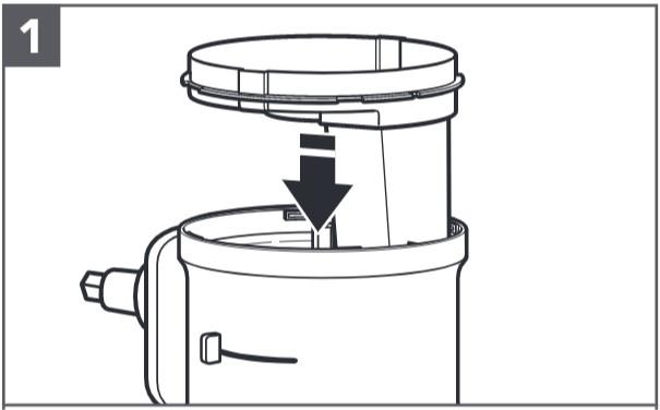 comment installer le disque à découper et la lame étape1