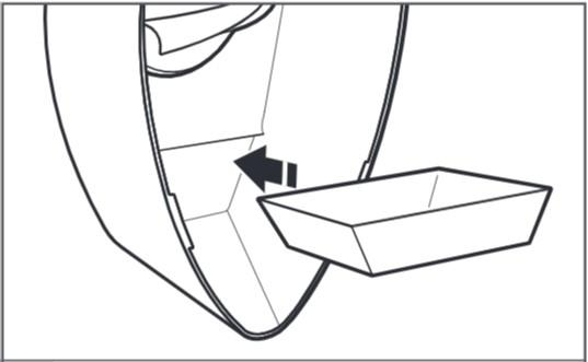 So montieren Sie die Zitruspresse für Küchenmaschinen Schritt 3