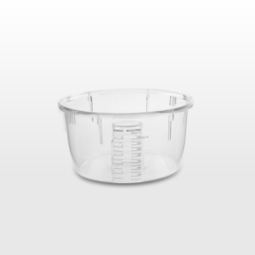 It's small and handy. The mini bowl with matching blade is perfect for smaller tasks like chopping nuts and making pesto, pastes, and baby food.