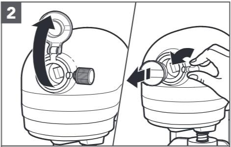 comment fixer l'extracteur de jus au robot pâtissier étape2
