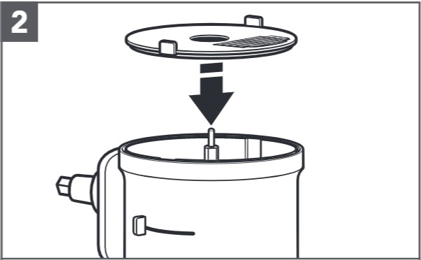 comment installer le disque à découper et la lame étape2