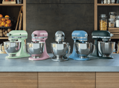 Mixers different colours
