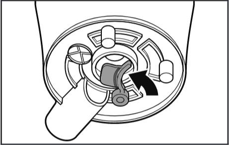 comment nettoyer l'extracteur de jus pour les robots pâtissiers étape2