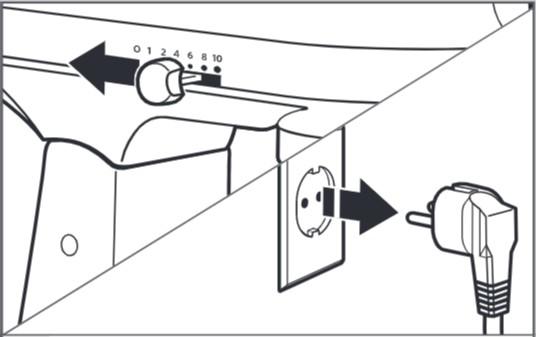 comment fixer le bol au robot pâtissier à tête inclinable étape1