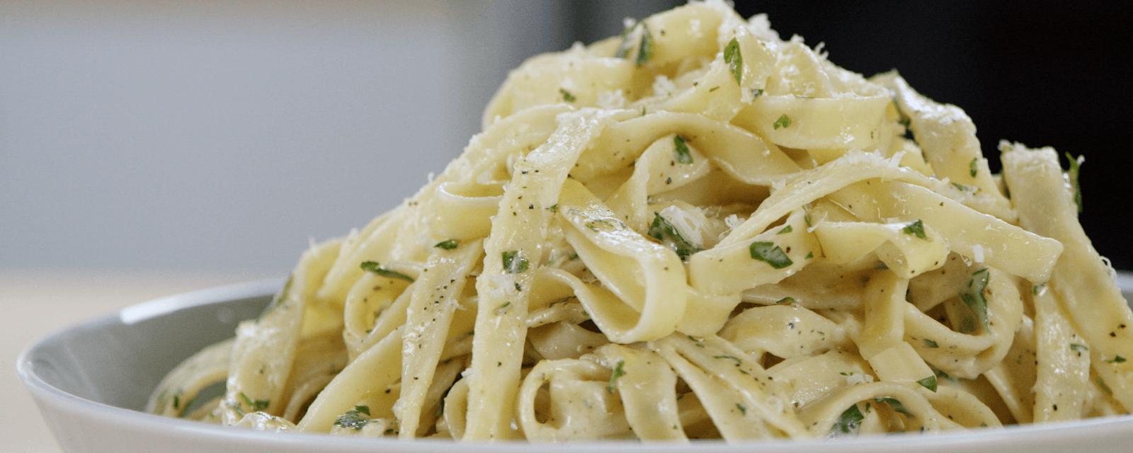 Creamy pasta