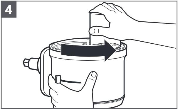 comment installer le disque à trancher réglable étape4