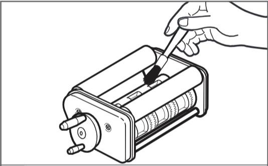 comment nettoyer la machine pour la préparation et le remplissage des raviolis étape1