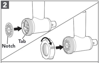 comment assembler le hachoir à viande étapes3 et4