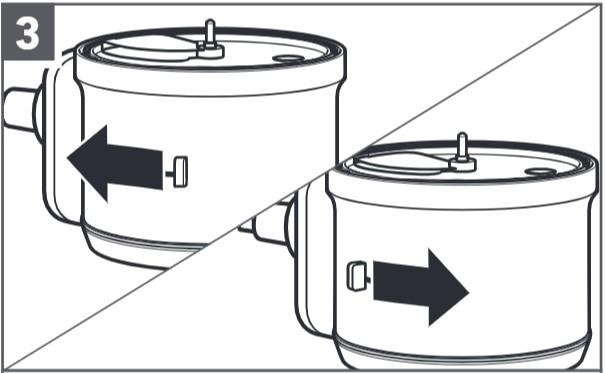 So setzen Sie die verstellbare Schneidscheibe ein, Schritt3