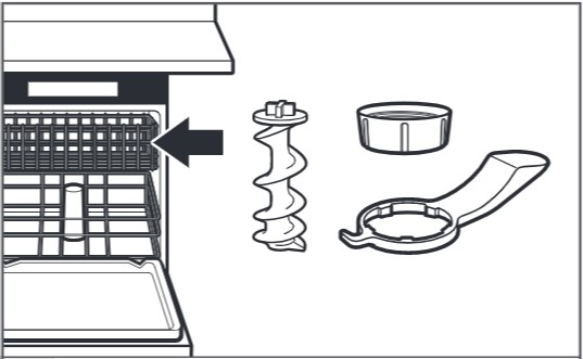 how do you clean the pasta press step 5