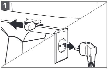 comment fixer le hachoir à viande au robot pâtissier étape1