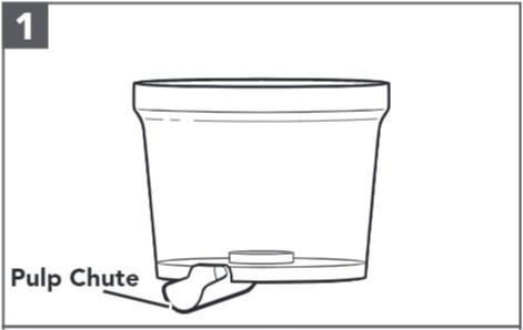 comment assembler l'extracteur de jus pour les robots pâtissiers étape1