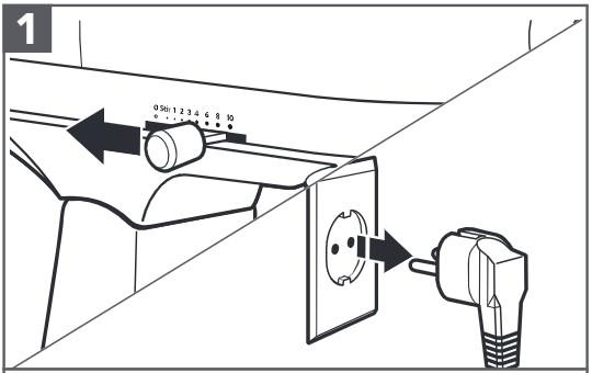 comment fixer le hachoir à viande en plastique au robot pâtissier étape1
