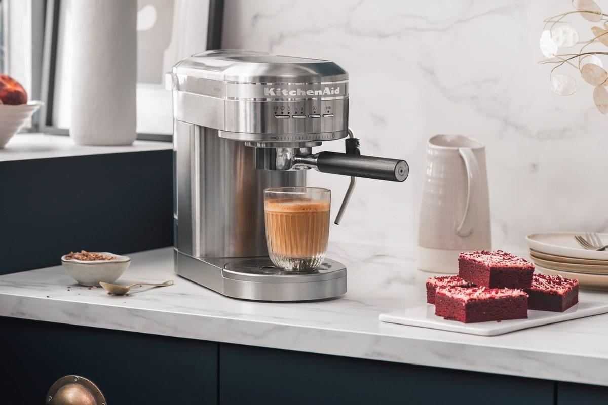 Stainless steel Artisan espresso machine