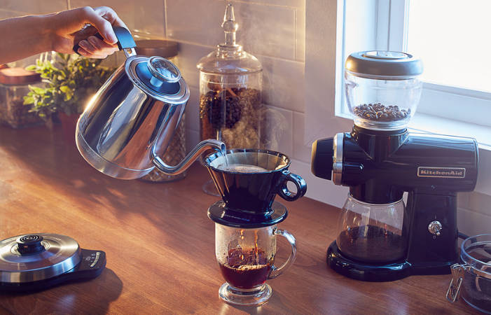 Be a home barista!