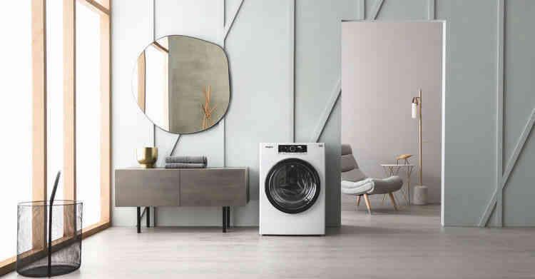 Lave-linge Whirlpool :  la technologie 6ème SENS pour un lavage parfait