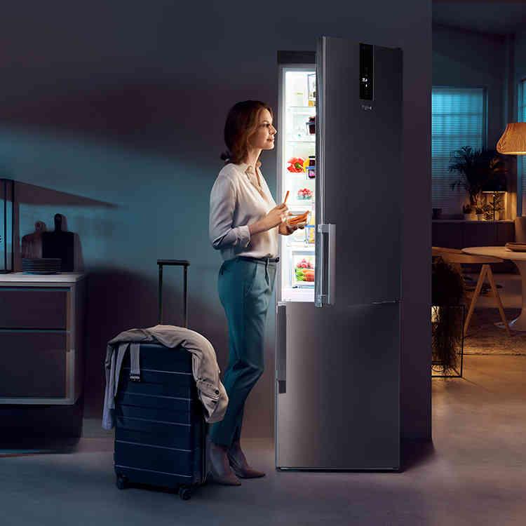 Image d'ensemble du réfrigérateur W9 Dual No Frost