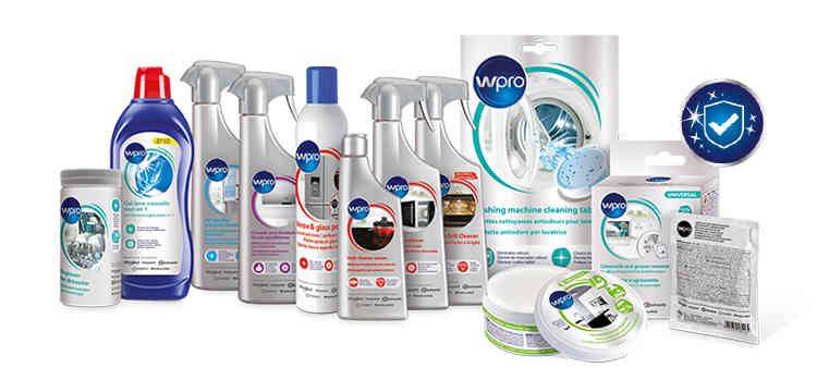 Extra hygiene  for your appliances with the Wpro Range.