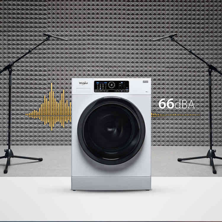 La machine à laver Whirlpool la plus silencieuse