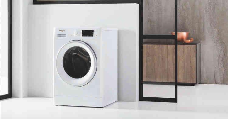 Lavante-séchante Whirlpool :  deux appareils en un