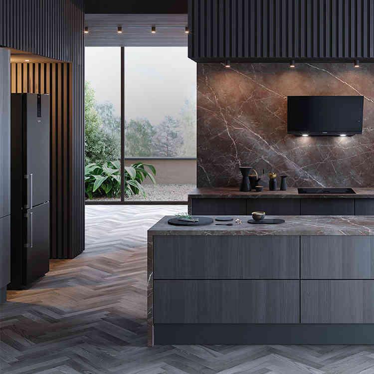 Le design de la collection Black Fiber