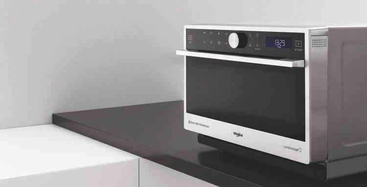 Microondas Whirlpool:  cocción perfecta en menos tiempo