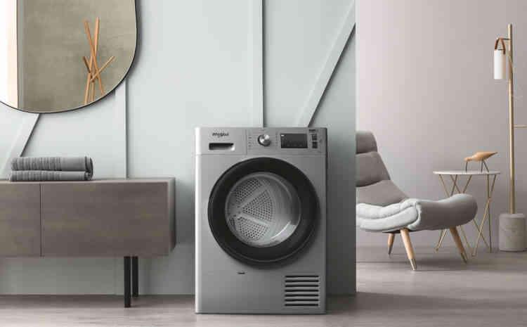 Sèche-linge Whirlpool :  la technologie 6ème SENS pour un séchage parfait