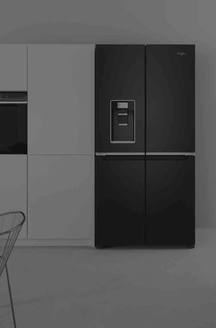 Whirlpool Amerikaanse koelkast 4-deurs W Collection