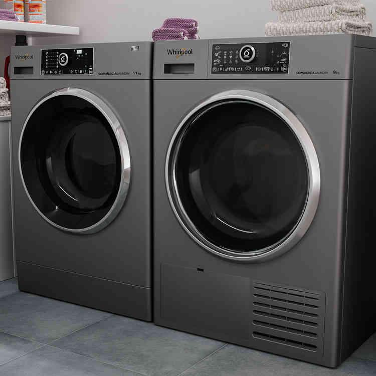 Explore the Supreme Care Washing Machine Silver Collection