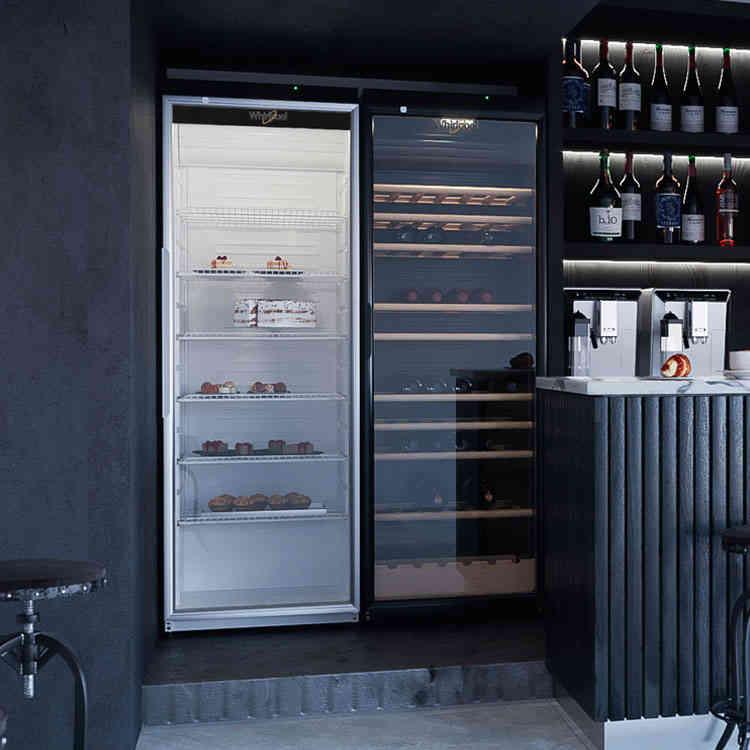 Glass-Door Refrigerators