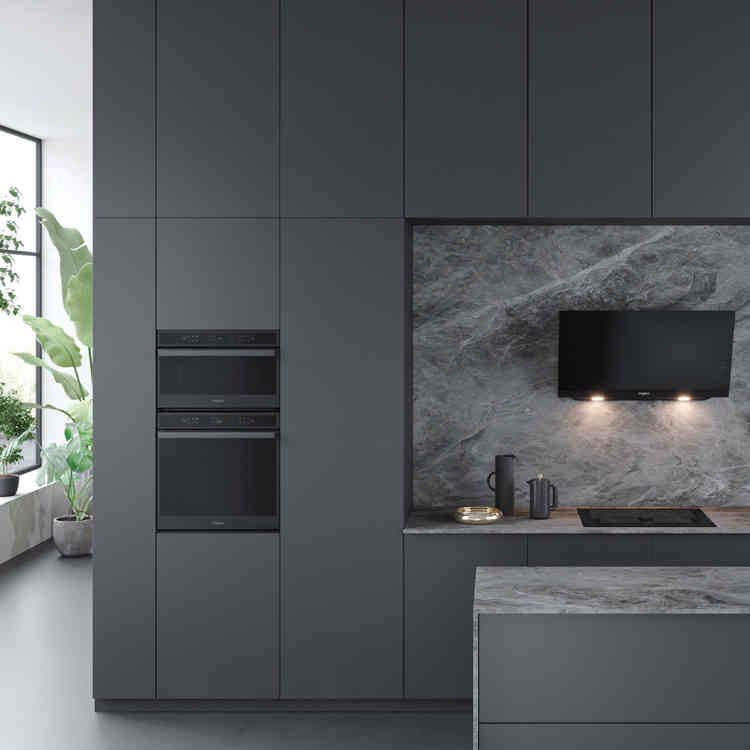 Whirlpool W6 Collection Antraciet inox keukenapparaten