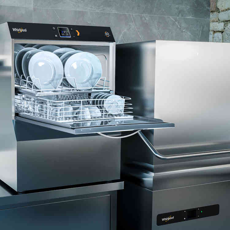 SALUXThe new Disinfectant Professional Dishwashers for a total hygienic safety