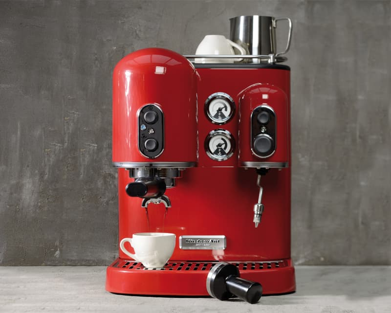 Kitchenaid-Espressomaschine-Siebträger