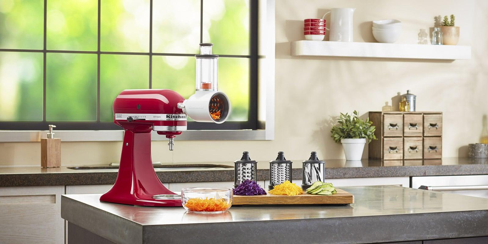 KitchenAid Tranchoir//Râpe à Cylindres pour Préparations Fraîches 5Ksmvsa...